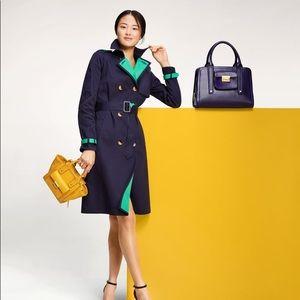 3.1 Phillip Lim Target XXO blue Trench jacket coat